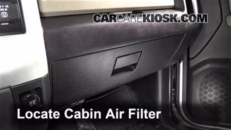 Where Is The Cabin Air Filter On A 2011 Ford Escape