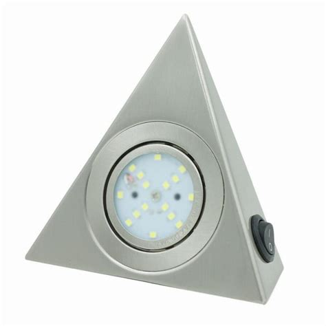 3w 2835smd led triangular cabinet light l with knob