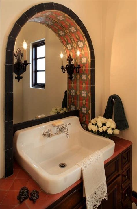 mexican bathroom decor spanish colonial traditional spaces phoenix wendy