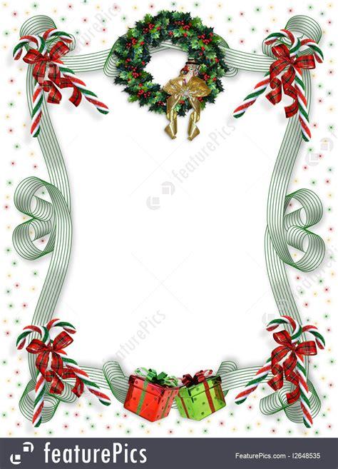 templates christmas border traditional stock