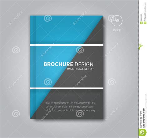 book layout design vector cover book digital design tablet concept template vector