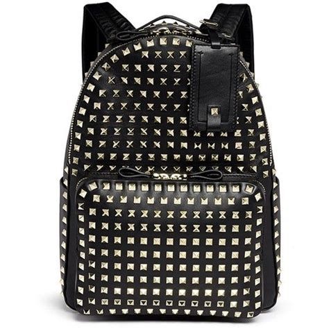 Leather Studded 1000 Ideas About Studded Backpack On Mcm Bags