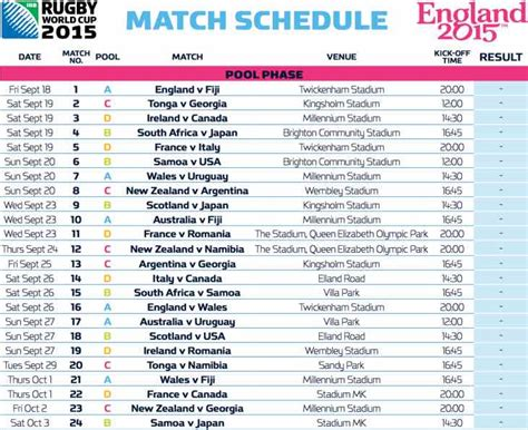 World Cup 2015 Calendar Search Results For Icc Cricket World Cup 2015 Time Table