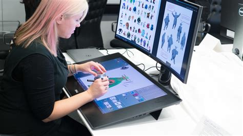 Tablet Drawing dell takes on the surface studio with a ginormous drawing