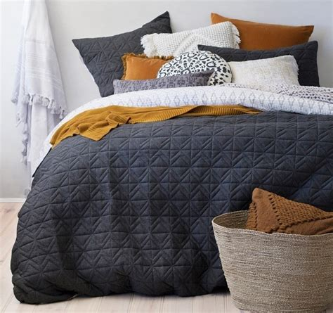 cisco quilted duvet cover set  bambury