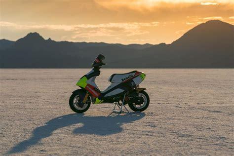 Motorrad News 6 by Pirelli Diablo Rosso Scooter 6 Weltrekorde In Bonneville
