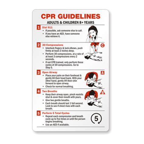 wallet size certification card template cpr certification wallet card adults children 8 years
