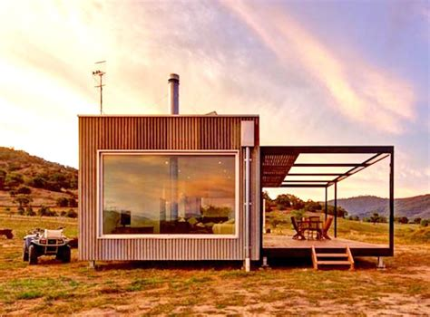 alternative house designs australia solar powered modular cabin exists completely off the grid