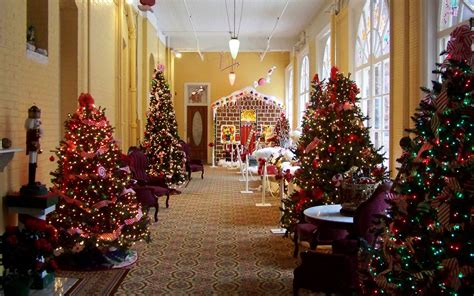 best christmas theme themed hotels 2018 world s best hotels