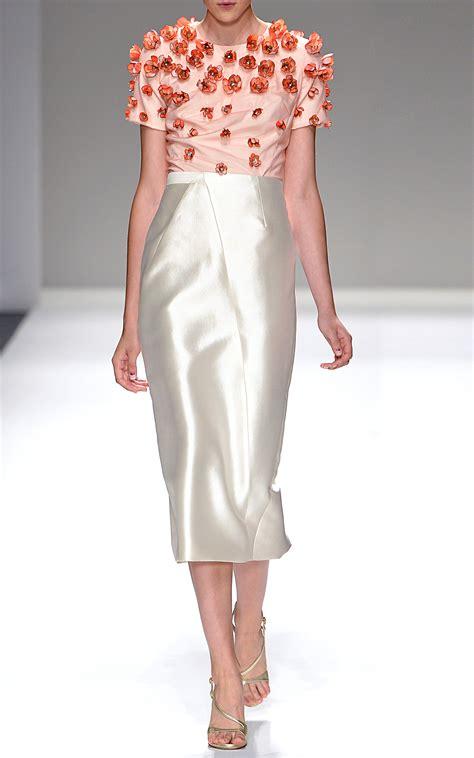Silk Skirt silk pencil skirt redskirtz
