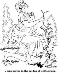 coloring pages jesus praying in the garden jesus praying in the garden coloring page coloring pages