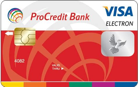procredit bank e banking tender for selecting the supplier of plastic cards with