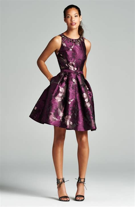 Fall Trend Alert Belted Purple Dresses by Wedding Guest Dresses For Fall Oasis Fashion