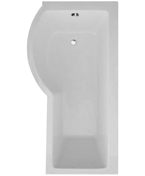 p shaped shower bath 1700 p shape 1700 x 900 left shower bath with bath panel