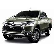 Mitsubishi Triton Facelift Rendered &224 La Pajero Sport