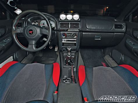 subaru gc8 interior 2000 subaru impreza 2 5rs modified magazine