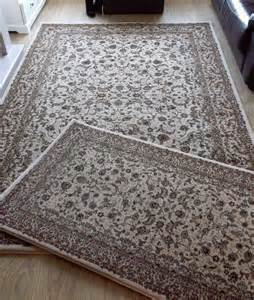 Dunelm Large Rugs Quality Dunelm Mill Oriental Rugs 1 Large 1 Small In