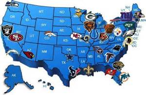 united states map nfl cities map of nfl teams map travel holidaymapq