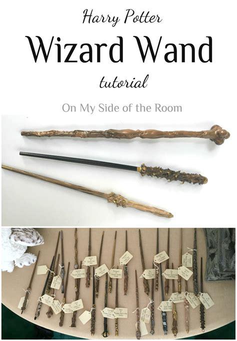 tutorial wand harry potter harry potter wand tutorial