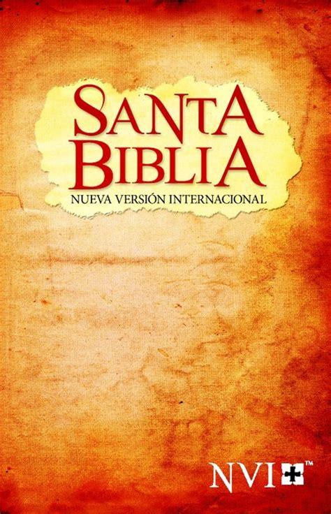 santa biblia nvi economica 0829760237 biblia nvi econ 243 mica tapa r 250 stica papiro nvi 9781563206146 comprar libro nvi