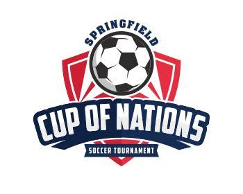 logo tournament contests springfield cup of nations soccer tournament logo design