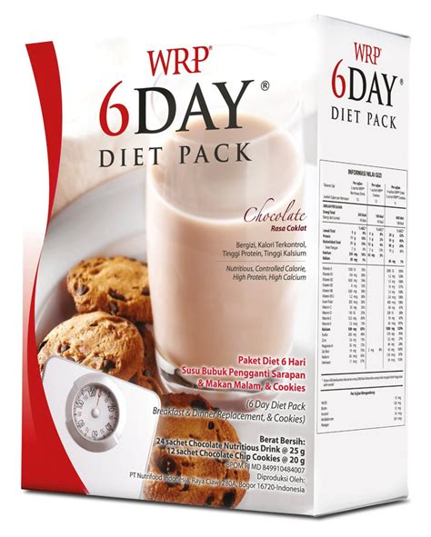 Wrp 6 Day Diet Pack Rjshop66 jual wrp 6 day diet pack nutrimart