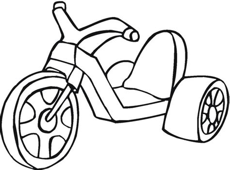 Big Wheel Toy Colouring Pages Free Big Coloring Pages