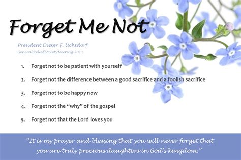 printable forget me not flowers forget not printables