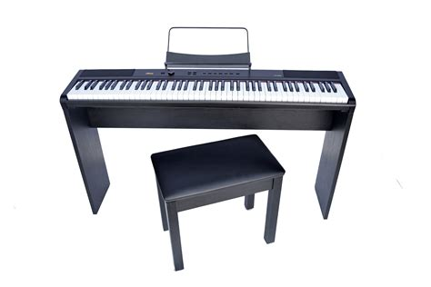 portable piano bench artesia portable piano 88 key hammer action w matching