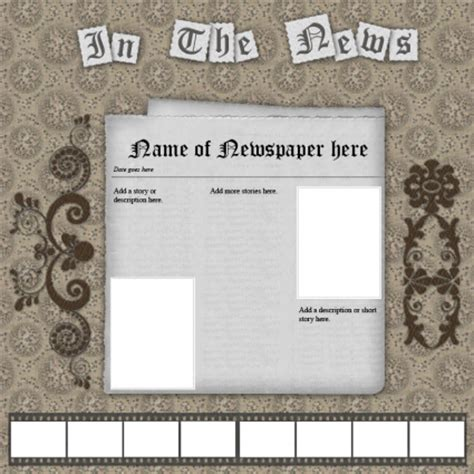 scrap book template free scrapbook templates lovetoknow