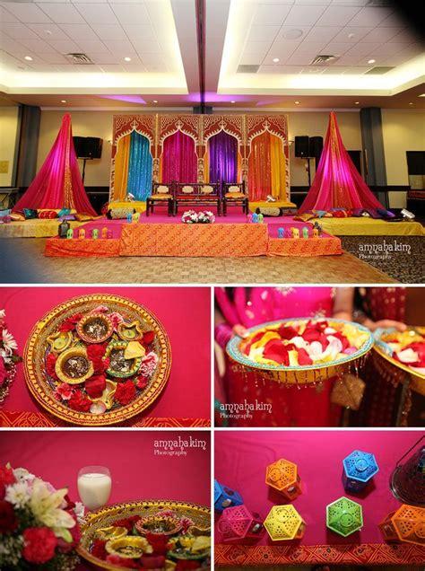 indian engagement decors images  pinterest