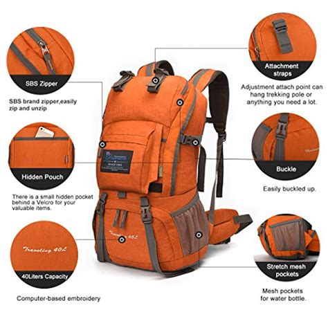 Cover Bag Kerinci 40 Liter mountaintop 40 liter backpack with cover 5812ii