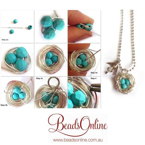 where can i buy stuff to make jewelry wire bird nest tutorial