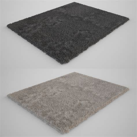 3d model rug 3d other carpet fur rug