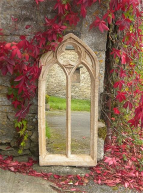 ft   ft  gothic double arch garden window glass