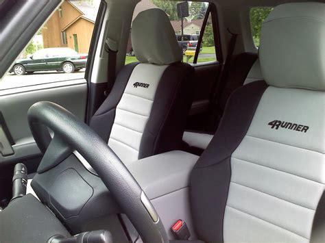 toyota 4runner custom seat covers neoprene seat covers toyota 4runner forum largest