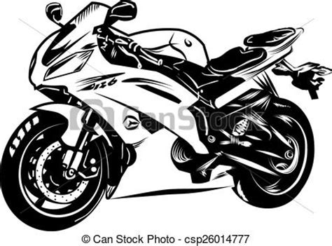 Motorrad Chopper Zeichnung by Vectors Illustration Of Motorcycle Csp26014777 Search