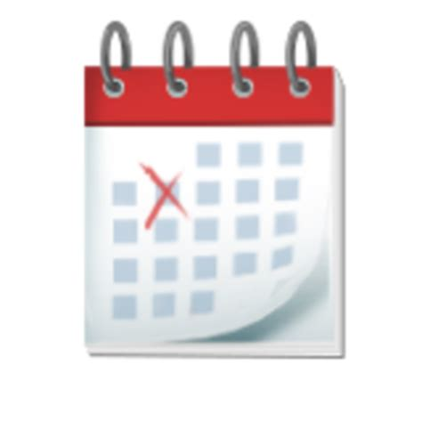 Calendar Emoji Magic Emoji The Black Side Big Transparent Images