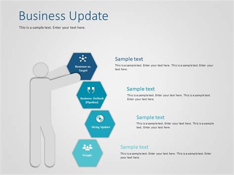 Business Update Powerpoint Template Slideuplift Powerpoint Update Template