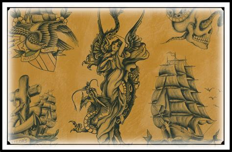 Ohio Tattoo History Museum | tattoo flash bicknee tattoo supply