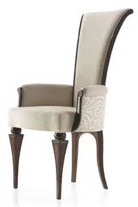 high back low arm italian contemporary style carver dining