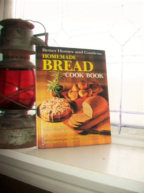 better homes and gardens bread recipies vintage cookbook bread better homes and gardens cook book