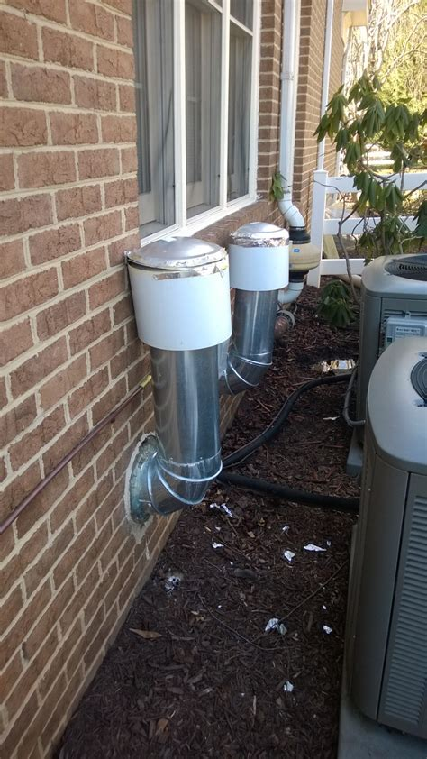 water heater exhaust vent installation exhaust are my direct vent water heater flues installed