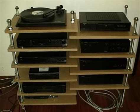 Diy Audio Rack Diy Flexy Av Rack Gary Sherman