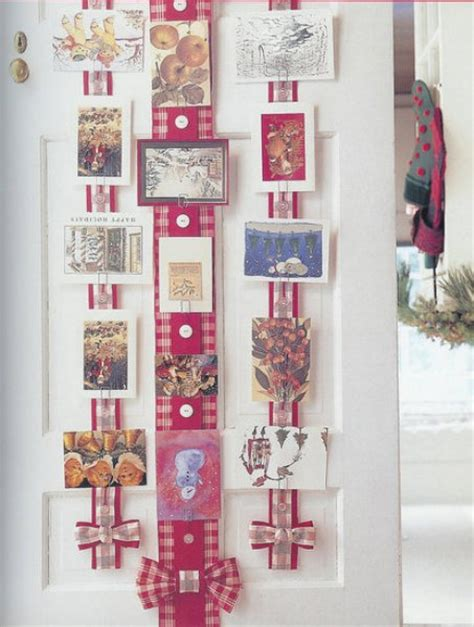 ideas for a christmas card holder find fun art projects