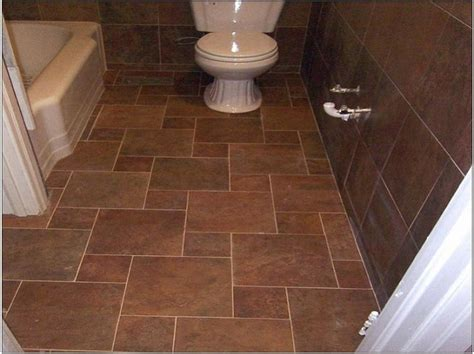 chocolate brown floor l brown bathroom tiles