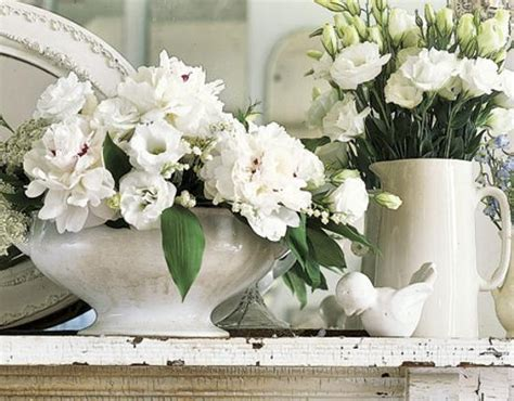 home decoration beautiful antique bird style porcelain tea mothers day presents in vintage style fresh flower arrangements in vases