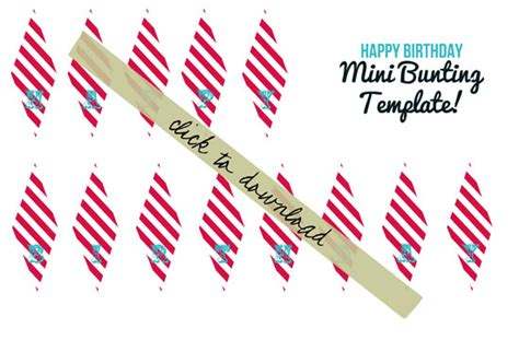 Circus Themed Party Banner A Tutorial And Free Download Mini Cake Banner Template