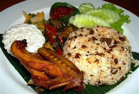 resep membuat nasi bakar oncom resep dan cara membuat nasi resep nasi ulam khas betawi