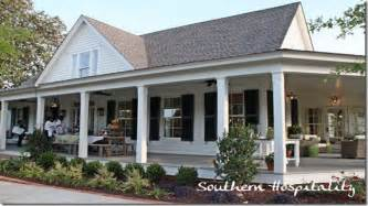 House Plans Farmhouse Country country house plans with porches southern living house
